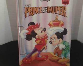 Walt Disney's The Prince And The Pauper Hardback Book