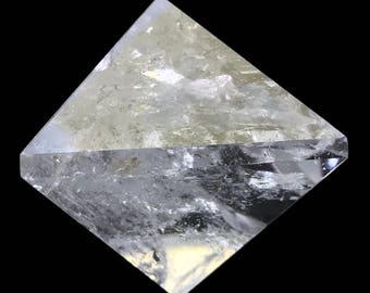 917 ct Octahedron d8 Clear Quartz Crystal Sacred Geometry Platonic Solids O10