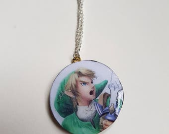 Zelda Link Necklace