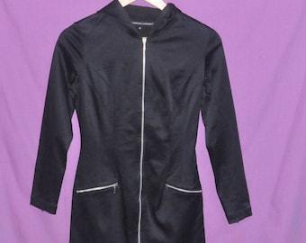Vintage Katharine Hamnett London Zipper Up Women Jacket