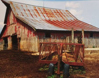 The Farm Collection: Long Day by Susan A Ray of OneHealingStone Studio