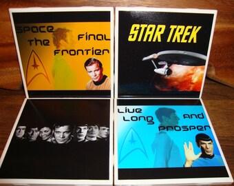 Star Trek Coasters (set of 4)