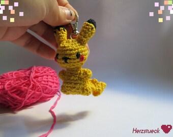 Pikachu Amigurumi Charm