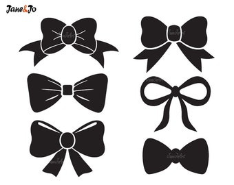 bow clipart etsy rh etsy com bow clipart outline bow clipart free