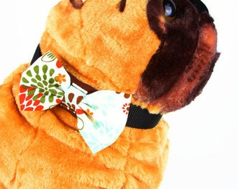 Bow Tie, Dog Bow Tie, Pet Neckwear, Dog Accessories, AnnabelsAccessories, Pet Accessories, Pet Neck Tie, Dog Clothes, Mod Flowers,