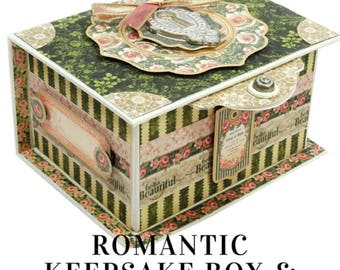 G45 Portrait of a Lady Keepsake Box & Mini Album Class Kit