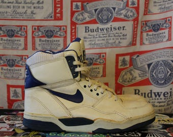 Vintage 1989 Nike Delta Air Force Sneakers // Vintage Nike sneakers // 80s nike shoes // 90s nike shoes // vintage air force // 80s nike //