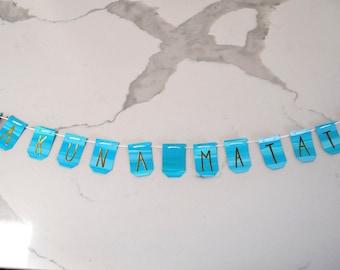 Hakuna Matata Mini Banner