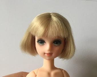 OOAK Artist Repaint Custom Takara Licca Japan Doll Head Blonde