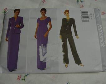Butterick 4764 Misses Jacket Dress and Pants Sewing Pattern - UNCUT - Size 12 14 16