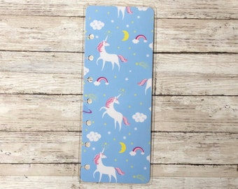 Unicorn Mini Happy Planner Bookmark