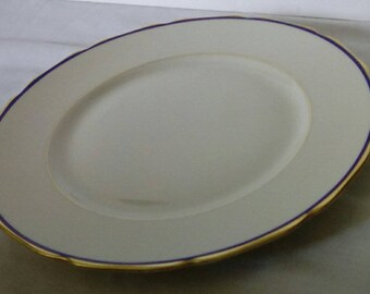 German Black Knight Waldenberg Studio Dinner Plates (4)