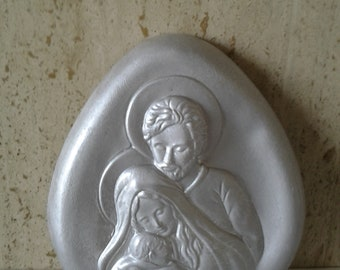 Holy Family table. H. 17 cm x L 16 cm.