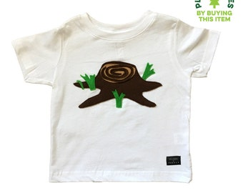Giving Tree - Kids Shirt - mi cielo x Donald Robertson - Boys or Girls