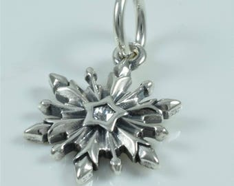 Authentic Pandora Frozen Snowflake Disney 791564CZ