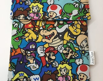 Nintendo Friends Ipad/Kindle/Tablet Sleeve