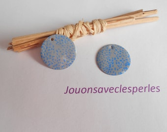 x 2 gray and blue sequins
