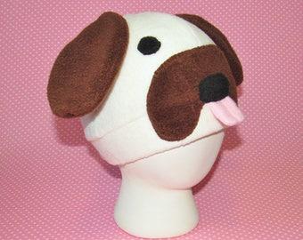 Fleece Pug Hat