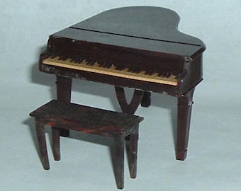 Vintage  PIANO WITH BENCH (Renwal)  1950's