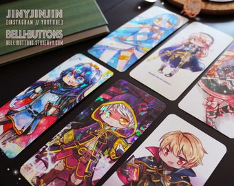 Fire Emblem Bookmark collection (6)