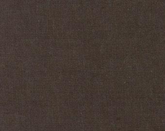 Moda Mochi Dot Textured Linen Solid by MoMo in Mocha