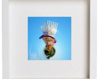 """Helter Skelter (TM4)  // 10""""x10"""" framed Photographic print"""