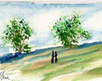 Meadow ( 9X12 print)
