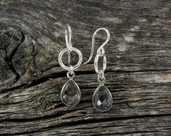 Black Quartz Spirit Stone Earrings