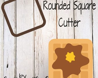 Rounded Square Cookie Cutter