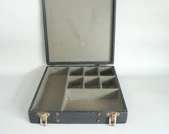Vintage 1900s Divided Office Storage Box