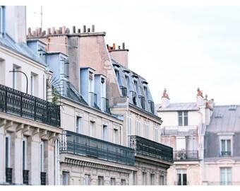 Paris photography, Paris apartments, French home decor, travel photography, Paris architecture, fine art photography, 16x24 art print