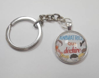 1 key ring to the entertainers