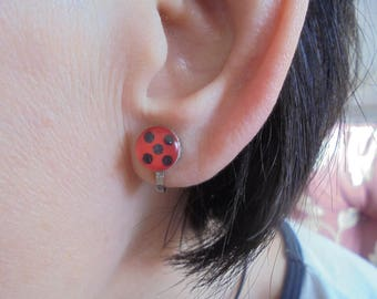Miraculous Ladybug Clip-on earrings
