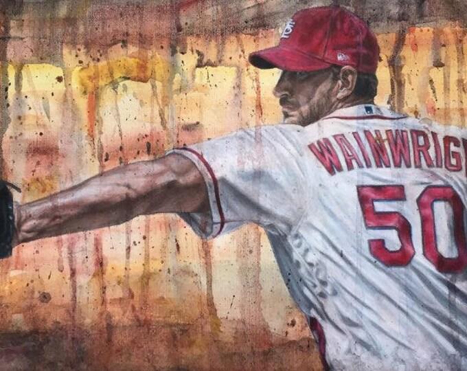 Featured listing image: Adam Wainwright PRINTS