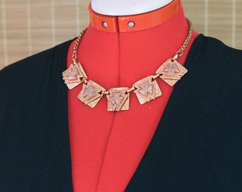 1980s Copper Necklace