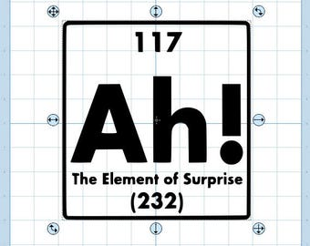 The element of surprise svg