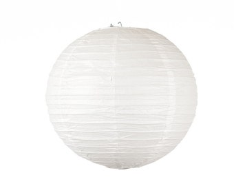 10 inch/25cm White Lantern for Weddings, Engagements, Parties, Celebrations etc