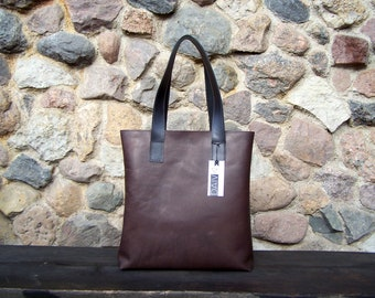 Leather Tote Bag, Leather Handbag, Woman Leather Tote, Leather Messenger, Laptop Handbag, Handmade Leather Tote, Leather Work Bag