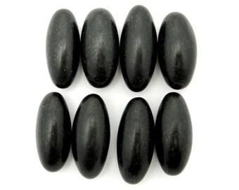 Black Shiva Lingam Stone- Shiva Lingham Lingum - Sacred Stone - Lord Shiva - Metaphysical - Chakra (RK63B4-01)