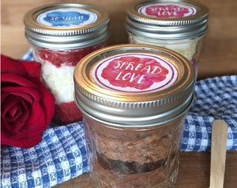 1 Triple Chocolate Cake in a Jar
