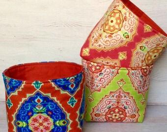 Small but functional, small Utensilo, small fabric bins, mini basket, mini bins