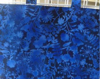 Beautiful Blue Market Tote Bag
