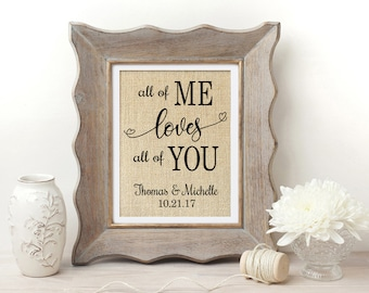 All of Me Loves All of You   All of Me Loves All of You Sign   John Legend   Love Song Print   John Legend Lyrics   Love Song Sign   Wedding