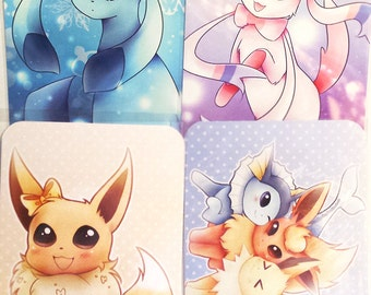 Mini Eeveelution Prints #1 4x6