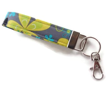 Key Fob, Key Chain, Wristlet Key Chain, Keychain, Wristlet for Keys with Large Lobster Clasp~~READY to SHIP~~~