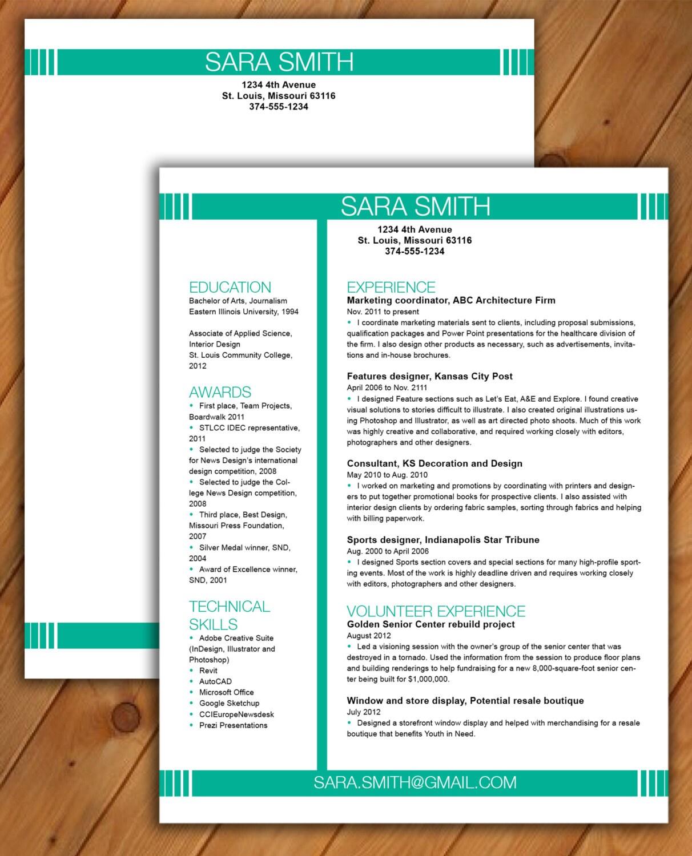 Lebenslauf und Anschreiben Vorlage CV Vorlage