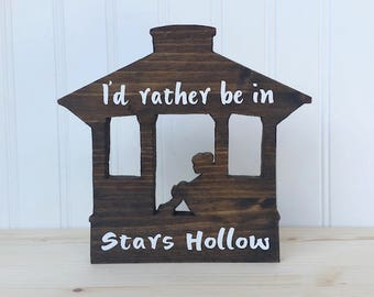 Gilmore Girls Stars Hollow Girl Wood Gazebo