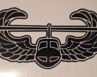 Air assault vinyl decal