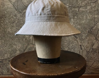 1960's Deadstock Canvas Bucket Hat by Derby Cap Co