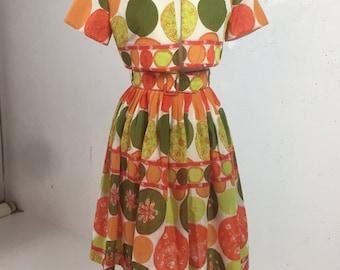 Vintage 1950s Ann Marsh 2 piece Dress and Jacket